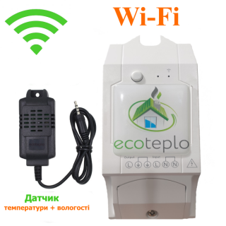 Программируемый Wi-Fi терморегулятор ECOTEPLO S-1