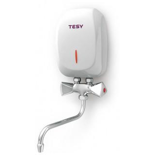 Проточный водонагреватель TESY 3,5 кВт со смесителем (IWH 35 X02 KI)