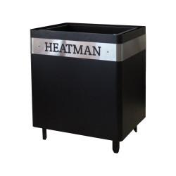 Электрокаменка Heatman Cube 4 кВт (Днипро ЭКС) с механическим блоком управления