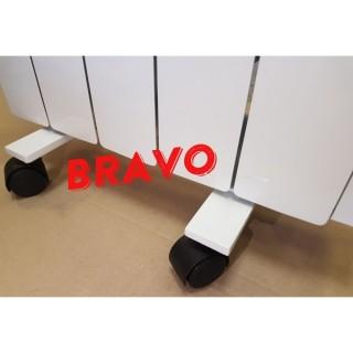 Комплект подставок на колесах для электрорадиатора Bravo