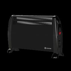 Электрический конвектор Eldom с вентилятором черный CFV (2 кВт)