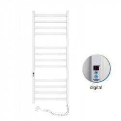 Электрический полотенцесушитель Santan Лестница Авангард 480х1200 (белый, правосторонний digital, таймер)