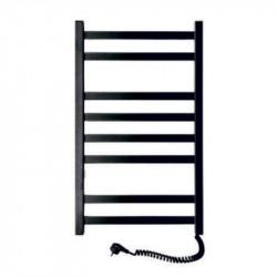 Электрический полотенцесушитель Santan Лестница Авангард 480х800 (черный, правосторонний, без терморегулятора)