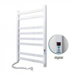 Электрический полотенцесушитель Santan Лестница Авангард 480х800 (белый, левосторонний digital, таймер)
