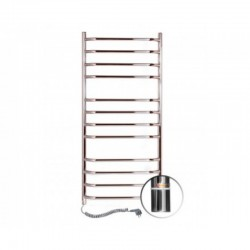 Электрический полотенцесушитель Santan Лестница Блюз 480х1200 (нерж. левосторонний с терморегулятором)
