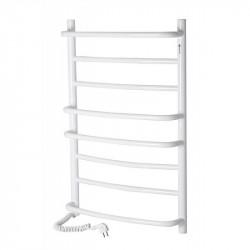 Электрический полотенцесушитель Santan Лестница Омега 530х800 (белый, левосторонний)