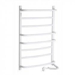 Электрический полотенцесушитель Santan Лестница Омега 530х800 (белый, правосторонний)