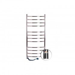 Электрический полотенцесушитель Santan Лестница Камелия 480х1200 (нерж. правосторонний с терморегулятором)