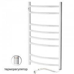 Электрический полотенцесушитель Santan Лестница Камелия 480х1200 (белый, правосторонний с терморегулятором)
