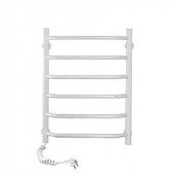 Электрический полотенцесушитель Santan Лестница Блюз 480х600 (белый. левосторонний)