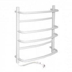 Электрический полотенцесушитель Santan Лестница Омега 530х600 (белый, левосторонний)