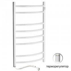 Электрический полотенцесушитель Santan Лестница Камелия 480х1200 (белый, левосторонний с терморегулятором)