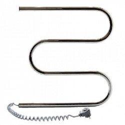 Электрический полотенцесушитель Santan Змеевик 500х500 (нерж.,левосторонний)