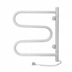 Электрический полотенцесушитель Santan Змеевик 500х600 (белый, поворотный)