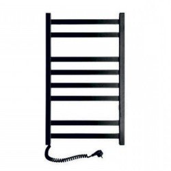 Электрический полотенцесушитель Santan Лестница Авангард 480х800 (черный, левосторонний, без терморегулятора)