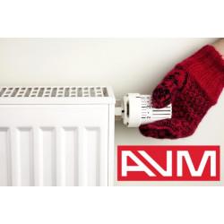 Стальной панельный радиатор AVM тип 11 500х400 (боковое подключение)