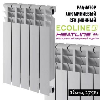 Алюминиевый радиатор Heat Line Ecoline 500/76