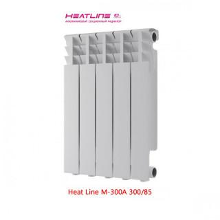 Алюминиевый радиатор Heat Line M300-A 300/85
