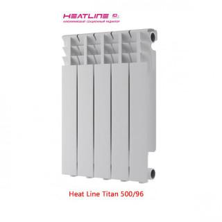 Алюминиевый радиатор Heat Line Titan 500/96