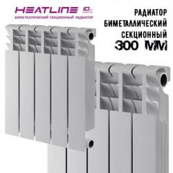 Биметаллический радиатор Heat Line M-300S1/80