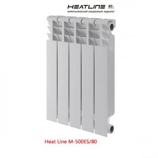 Биметаллический радиатор Heat Line M-500ES/80