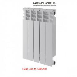 Биметаллический радиатор Heat Line M-500S/80