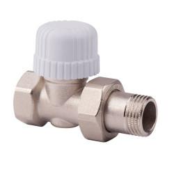"""Прямой термостатический вентиль с предварительной настройкой ICMA 1/2"""" арт. 779"""
