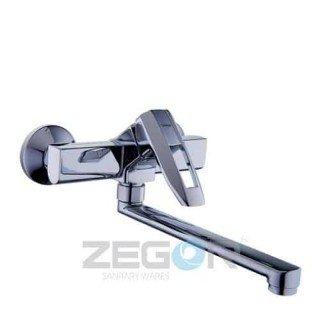 Смеситель для кухни Zegor NOF12-A033 (от стены)