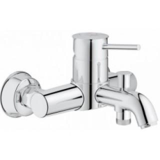 Смеситель для ванны Grohe Bau Classic 32865000 (хром)