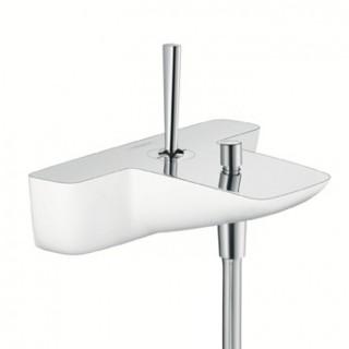 Смеситель для ванны HansGrohe Pura Vida 15472400 (белый/хром)