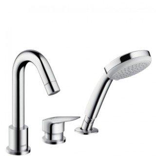 Смеситель для ванны HansGrohe Logis 71313000 (на три отверстия, хром)