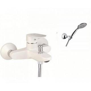 Смеситель для ванны Santan Kevon Chic 81WX8150 White (с душевым гарнитуром)