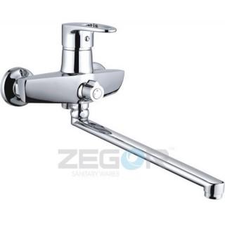 Смеситель для ванны Zegor NKE-А180 New (L=350)