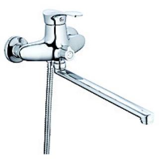 Смеситель для ванны Zegor NPO-А071(L=350)