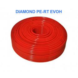 Труба для теплого пола Diamond PERT EVOH 16x2 с кислородным барьером