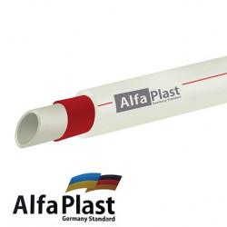 Труба полипропиленовая Alpha Plast Fiber (Ø 20 мм)