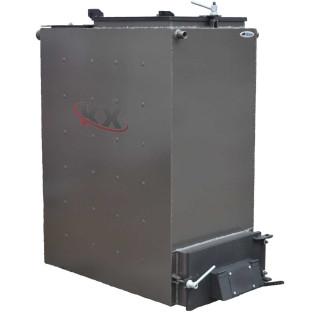 Твердотопливный котел Холмова 100 кВт шахтный с увеличенным бункером Bizon FS-100
