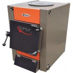 Твердотопливный котел Bizon М-100П Термо (10 кВт с плитой)