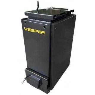 Твердотопливный шахтный котел Холмова Vesper 15 кВт (утепленный)